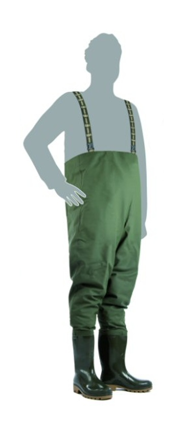 DEMAR - Prsačky GRAND CHEST WADERS 3192 zelené